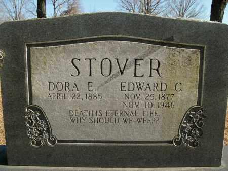 STOVER, EDWARD C. - Boone County, Arkansas | EDWARD C. STOVER - Arkansas Gravestone Photos