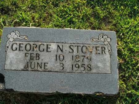 STOVER, GEORGE NEWTON (SECOND MARKER) - Boone County, Arkansas | GEORGE NEWTON (SECOND MARKER) STOVER - Arkansas Gravestone Photos