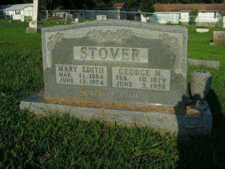 STOVER, MARY EDITH - Boone County, Arkansas | MARY EDITH STOVER - Arkansas Gravestone Photos