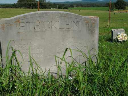 STRICKLEN, BESSIE - Boone County, Arkansas | BESSIE STRICKLEN - Arkansas Gravestone Photos