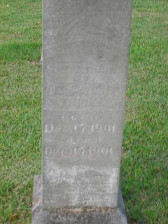 STRICKLEN, INFANT SON - Boone County, Arkansas | INFANT SON STRICKLEN - Arkansas Gravestone Photos