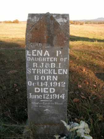 STRICKLEN, LENA P - Boone County, Arkansas | LENA P STRICKLEN - Arkansas Gravestone Photos