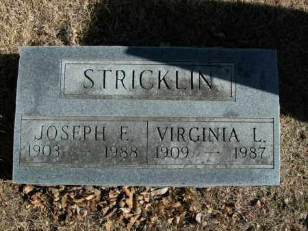 STRICKLIN, JOSEPH E. - Boone County, Arkansas | JOSEPH E. STRICKLIN - Arkansas Gravestone Photos