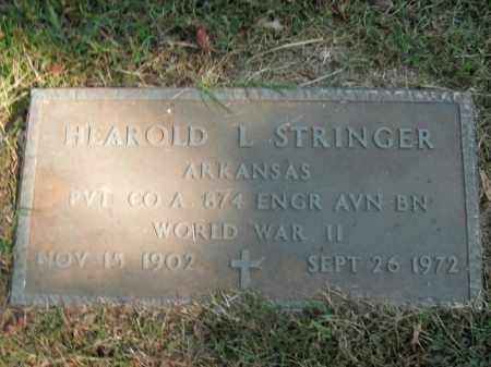 STRINGER  (VETERAN WWII), HEAROLD L - Boone County, Arkansas | HEAROLD L STRINGER  (VETERAN WWII) - Arkansas Gravestone Photos