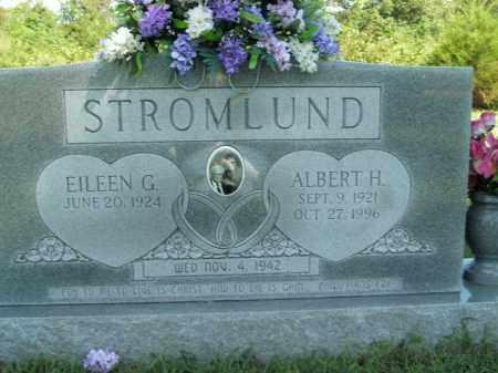 STROMLUND, ALBERT H. - Boone County, Arkansas | ALBERT H. STROMLUND - Arkansas Gravestone Photos