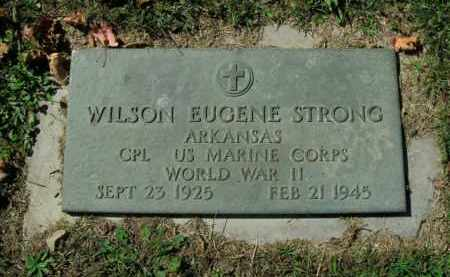 STRONG  (VETERAN WWII), WILSON EUGENE - Boone County, Arkansas | WILSON EUGENE STRONG  (VETERAN WWII) - Arkansas Gravestone Photos