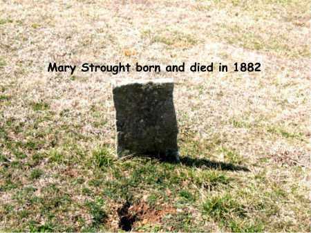STROUGHT, MARY - Boone County, Arkansas | MARY STROUGHT - Arkansas Gravestone Photos