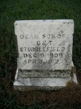 STUBBLEFIELD, DEAN - Boone County, Arkansas | DEAN STUBBLEFIELD - Arkansas Gravestone Photos