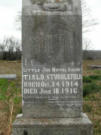 STUBBLEFIELD, JOE HOWEL - Boone County, Arkansas | JOE HOWEL STUBBLEFIELD - Arkansas Gravestone Photos