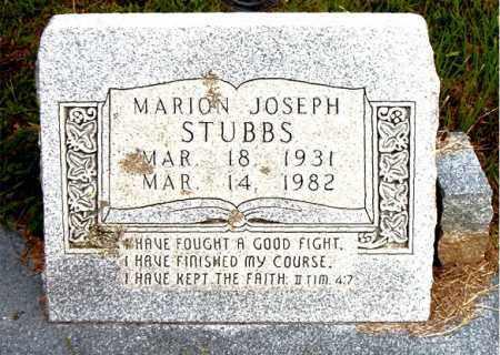 STUBBS, MARION JOSEPH - Boone County, Arkansas | MARION JOSEPH STUBBS - Arkansas Gravestone Photos