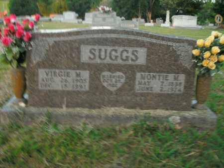 SUGGS, MONTIE M. - Boone County, Arkansas | MONTIE M. SUGGS - Arkansas Gravestone Photos