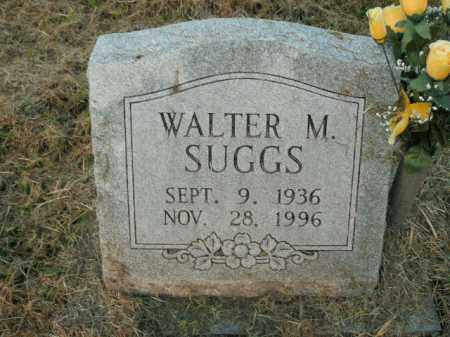 SUGGS, WALTER M. - Boone County, Arkansas | WALTER M. SUGGS - Arkansas Gravestone Photos