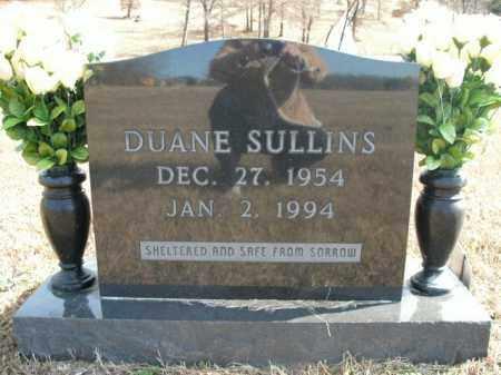 SULLINS, DUANE - Boone County, Arkansas | DUANE SULLINS - Arkansas Gravestone Photos