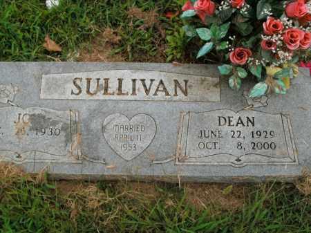 SULLIVAN, DEAN - Boone County, Arkansas   DEAN SULLIVAN - Arkansas Gravestone Photos
