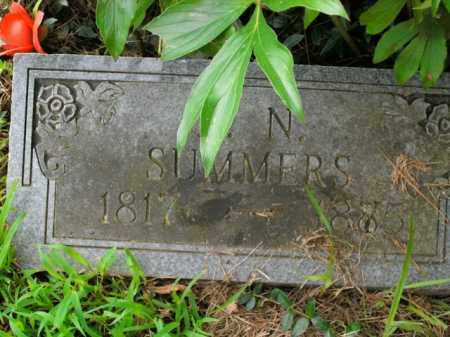 SUMMERS, JOHN N - Boone County, Arkansas | JOHN N SUMMERS - Arkansas Gravestone Photos