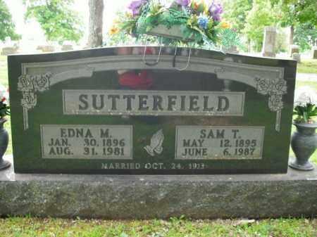 SUTTERFIELD, SAM T. - Boone County, Arkansas   SAM T. SUTTERFIELD - Arkansas Gravestone Photos