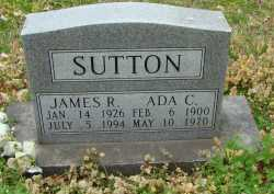SUTTON, ADA C. - Boone County, Arkansas | ADA C. SUTTON - Arkansas Gravestone Photos