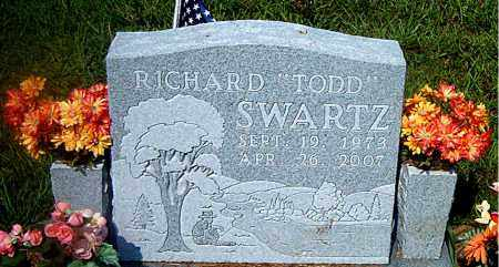 SWARTZ, RICHARD (TODD) - Boone County, Arkansas | RICHARD (TODD) SWARTZ - Arkansas Gravestone Photos