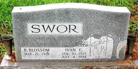 SWOR, IVAN C - Boone County, Arkansas   IVAN C SWOR - Arkansas Gravestone Photos