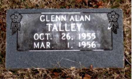 TALLEY, GLENN ALAN - Boone County, Arkansas | GLENN ALAN TALLEY - Arkansas Gravestone Photos