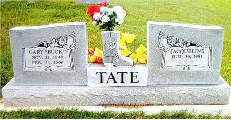 TATE, GARY (BUCK) - Boone County, Arkansas | GARY (BUCK) TATE - Arkansas Gravestone Photos
