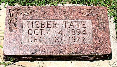 TATE, HEBER - Boone County, Arkansas   HEBER TATE - Arkansas Gravestone Photos