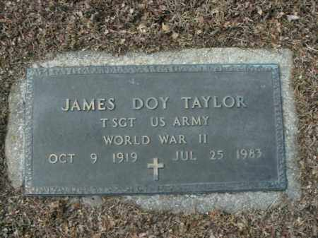 TAYLOR  (VETERAN WWII), JAMES DOY - Boone County, Arkansas | JAMES DOY TAYLOR  (VETERAN WWII) - Arkansas Gravestone Photos