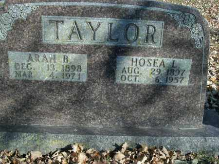 TAYLOR, ARAH B. - Boone County, Arkansas | ARAH B. TAYLOR - Arkansas Gravestone Photos