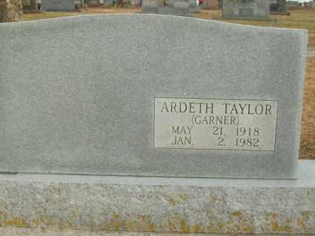 GARNER TAYLOR, ARDETH - Boone County, Arkansas | ARDETH GARNER TAYLOR - Arkansas Gravestone Photos