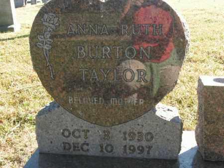 TAYLOR, ANNA RUTH - Boone County, Arkansas | ANNA RUTH TAYLOR - Arkansas Gravestone Photos