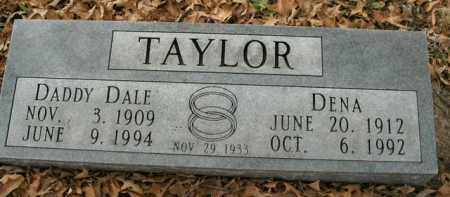 TAYLOR, DALE - Boone County, Arkansas | DALE TAYLOR - Arkansas Gravestone Photos