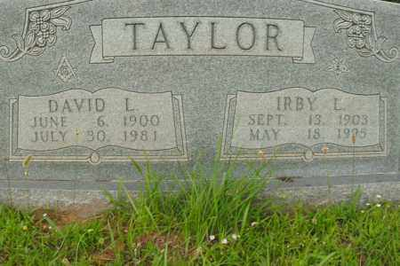 TAYLOR, IRBY L. - Boone County, Arkansas | IRBY L. TAYLOR - Arkansas Gravestone Photos