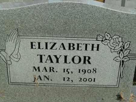 TAYLOR, ELIZABETH - Boone County, Arkansas   ELIZABETH TAYLOR - Arkansas Gravestone Photos