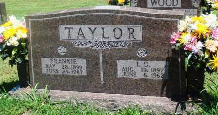 TAYLOR, L C - Boone County, Arkansas | L C TAYLOR - Arkansas Gravestone Photos