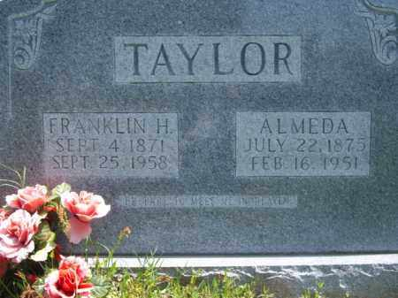 TAYLOR, FRANKLIN HARRISON - Boone County, Arkansas | FRANKLIN HARRISON TAYLOR - Arkansas Gravestone Photos