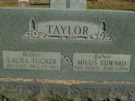 TAYLOR, MILUS EDWARD - Boone County, Arkansas | MILUS EDWARD TAYLOR - Arkansas Gravestone Photos