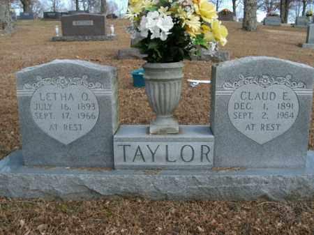TAYLOR, LETHA O. - Boone County, Arkansas | LETHA O. TAYLOR - Arkansas Gravestone Photos