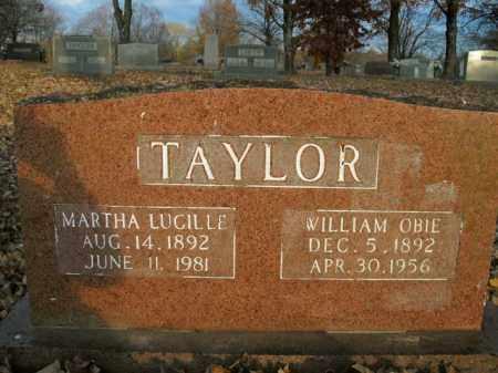 TAYLOR, MARTHA LUCILLE - Boone County, Arkansas | MARTHA LUCILLE TAYLOR - Arkansas Gravestone Photos