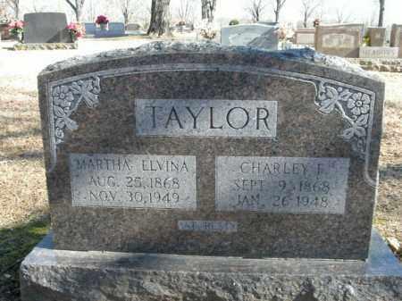 TAYLOR, MARTHA ELVINA - Boone County, Arkansas   MARTHA ELVINA TAYLOR - Arkansas Gravestone Photos