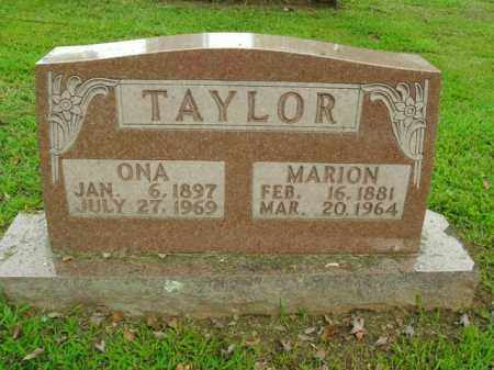 TAYLOR, MARION DAVID - Boone County, Arkansas | MARION DAVID TAYLOR - Arkansas Gravestone Photos