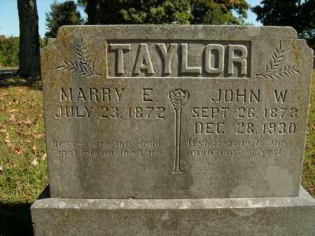 TAYLOR, JOHN W. - Boone County, Arkansas | JOHN W. TAYLOR - Arkansas Gravestone Photos
