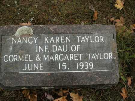 TAYLOR, NANCY KAREN - Boone County, Arkansas | NANCY KAREN TAYLOR - Arkansas Gravestone Photos