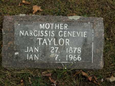 TAYLOR, NARCISSIS GENEVIE - Boone County, Arkansas | NARCISSIS GENEVIE TAYLOR - Arkansas Gravestone Photos