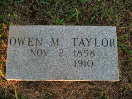 TAYLOR, OWEN M. - Boone County, Arkansas | OWEN M. TAYLOR - Arkansas Gravestone Photos