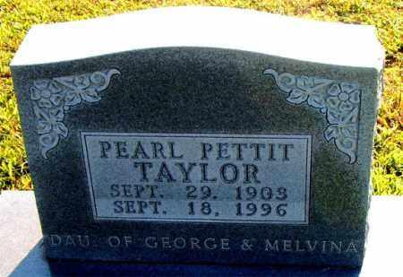 TAYLOR, PEARL - Boone County, Arkansas | PEARL TAYLOR - Arkansas Gravestone Photos