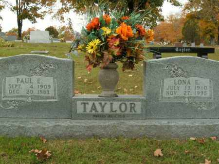 TAYLOR, LONA E. - Boone County, Arkansas | LONA E. TAYLOR - Arkansas Gravestone Photos