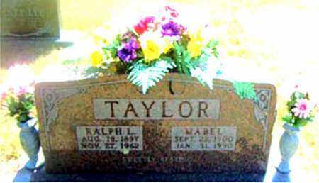 TAYLOR, MABEL - Boone County, Arkansas | MABEL TAYLOR - Arkansas Gravestone Photos