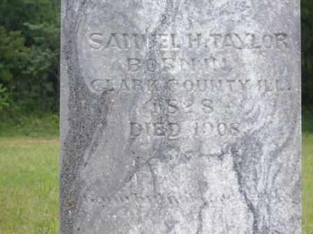 TAYLOR, SAMUEL H. - Boone County, Arkansas | SAMUEL H. TAYLOR - Arkansas Gravestone Photos
