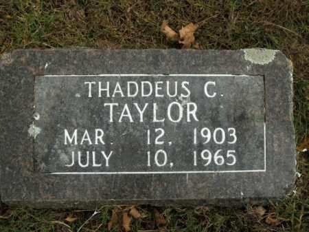 TAYLOR, THADDEUS C. - Boone County, Arkansas | THADDEUS C. TAYLOR - Arkansas Gravestone Photos