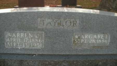 TAYLOR, WARREN D. - Boone County, Arkansas | WARREN D. TAYLOR - Arkansas Gravestone Photos